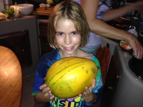 A small papaya