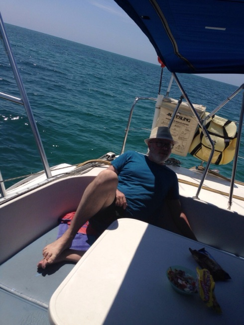 Sailing is rough